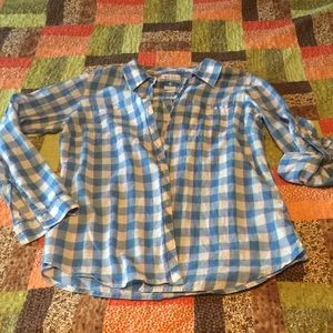 Columbia light button up shirt roll up sleeves